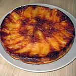 recette Quatre-quarts aux pommes caramélisées, un délice super facile !!