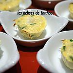 recette bouchées aux noix de St jacques