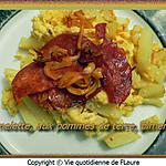 recette Omelette, aux pommes de terre, pimentée