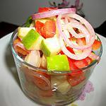 recette SALADE FRAÎCHEUR  POMME GRANNY SMITH & TOMATE ROUGE