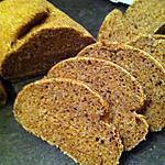 recette Pain complet aux graines de chia (dukan conso)