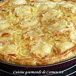 recette Tarte aux oignons et au Maroilles