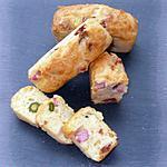 recette Mini-cakes au jambon & aux pistaches