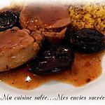 recette FILET MIGNON AUX PRUNEAUX & VIN BLANC