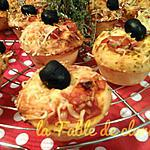recette Muffins facon pizza