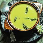 recette Velouté de printemps aux asperges