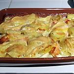 recette Tartiflette au saumon fumé