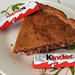 recette Gâteau au chocolat Kinder