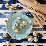 recette Macarons au chocolat blanc et poivre de Sarawak