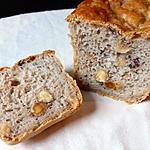 recette Pain sans gluten aux noisettes