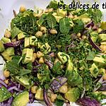 recette salade de pois chiches et avocat
