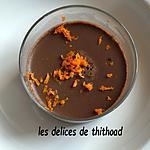 recette crème choco orange