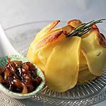 recette Gratin de pommes de terre et confit d'oignons
