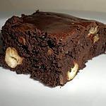 recette Brownies Très Chocolatés aux fruits secs