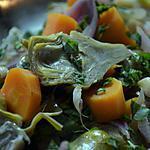 recette Artichauts violets à la barigoule