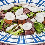 recette Salade de lentilles au magret fumé et au radis noir