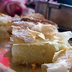 recette Bougatsa (Pâtisserie grecque)