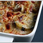 recette gratin de courgettes et d'aubergines