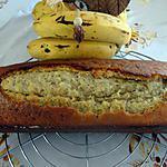 recette GATEAU CAKE AUX  BANANES