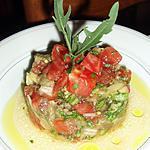 recette Salade tiède d'aubergine