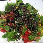 recette Salade tomates, maïs et thon