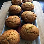 recette muffins à la fraise et amaretto   selon la recette de makiace