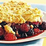 recette Crumbles aux fruits rouges