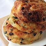 recette Galettes de pommes de terre, petits pois, fromage, Bio, sans gluten sans oeufs