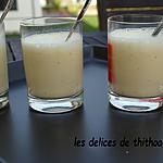 recette verrines de maïs au lait et cidre