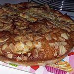 recette Gâteau au pèches eau de rose et amandes