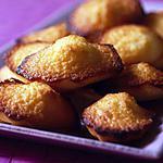 recette madeleine au citron