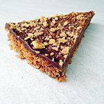 recette Une tarte chocolat coco sans cuisson avec 5 ingrédients en 5 minutes