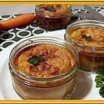 recette Flan à la carotte, persil et cumin