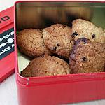 recette Cookies moelleux au lemon curd et raisins