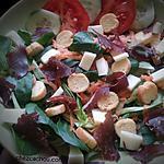 recette Salade composée au boeuf séché