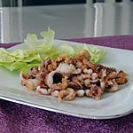 recette Poulpes frits