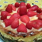 recette Cheesecake fraises-citron
