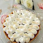 recette Tarte rhubarbe meringuée