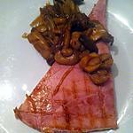 recette Jambon poêlé sauce échalotes