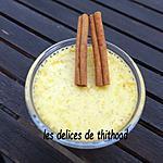 recette crème citron cannelle