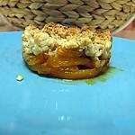 recette Crumble de mangue caramélisée à la tonka
