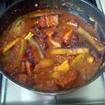 recette boucane& bringèle réunionnais (aubergine)
