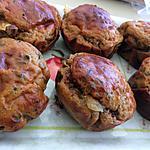 recette muffins chèvre et mûre de makiace
