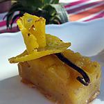 recette Compotée d'ananas comme un gâteau