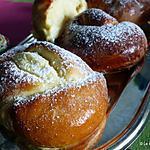 recette Brioches fourrées au fromage - Branzoaice