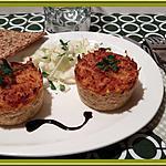 recette Flan de Quinoa, carottes, et jambon fumé.