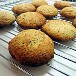 recette Biscuits moelleux citron /pavot