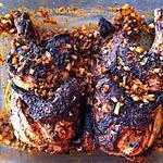recette Poulet à la portugaise: frango assado (compatible dukan)