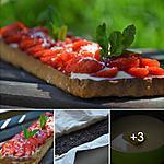 recette Tarte aux fraises gariguettes sur crème chiboust au chocolat blanc