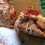 recette Saltimbocca de veau au fromage (compatible dukan)